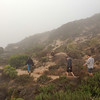 "<span id=""title"">Walking Back</span> <em>Point Dume SB</em> This was right around sunset, if you can believe it. I've been to Point Dume many times, but on this day there was so much fog it was a different world."