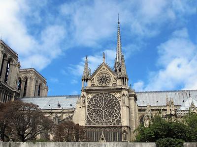 France - Paris - Notre Dame
