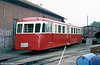 EX- PO Correze CFBA trailer 703 at Romorantin in August 1988.