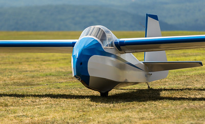 Vintage Sailplane Weekend 2012.  Harris Hill, Elmira, NY ~ Creative Commons, Non-Commercial, No Derivatives