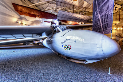 One of many famous Gliders at the National Soaring Museum, Harris Hill, NY