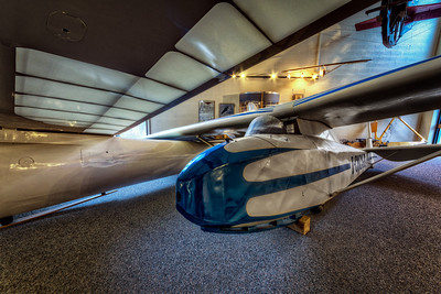 1935 Restored Glider at the National Soaring Museum, Harris Hill, NY