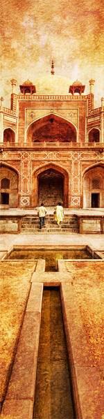 "<h2>Romance in India - Pinterest Edition</h2> <br/>My first impression of romance in India came from Bollywood.  I was pretty sure that everyone fell in love then spent a long time dancing around a grapefruit tree.    There are other dancers involved, nearby, of course, as well as a series of fountains, slow-motion cattle, Hinduesque yodeling.<br/><br/>But then, after being there, I saw romance was the same as just about everywhere else.  I did capture this couple together, exploring Humayun's Tomb in the middle of Delhi.  Enjoy!<br/><br/>- Trey Ratcliff<br/><br/><a href=""http://www.stuckincustoms.com/exhibition-cropped-for-pinterest/"" rel=""nofollow"">See the entire Pinterest Exhibition here.</a><br/><br/><a href=""http://www.stuckincustoms.com/2009/09/13/romance-in-india/"" rel=""nofollow"">The original photo can be found here.</a>"
