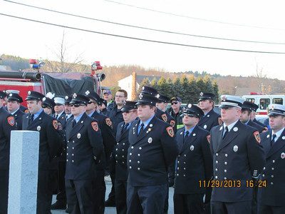 FF Mem. Dedication 11/29/13
