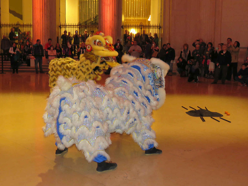 Chinese Lion Dance, performed by the Penn Lions troupe