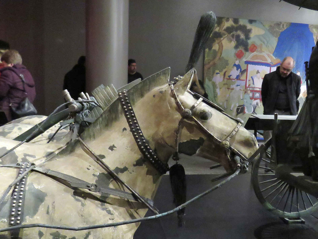 horse from Bronze chariot No. 2