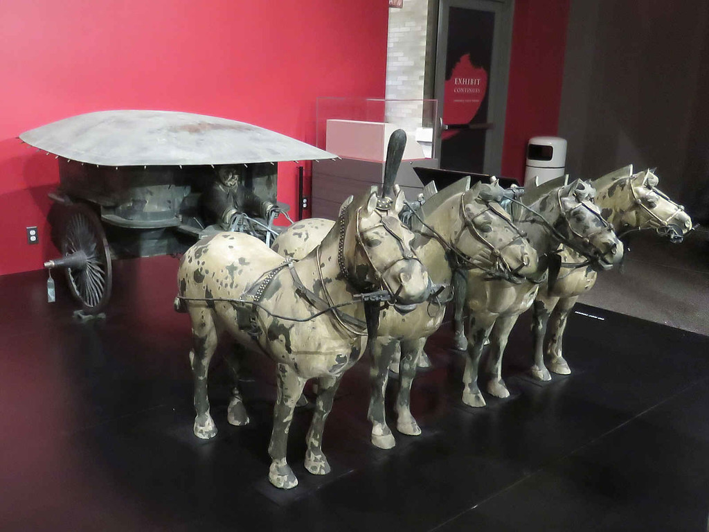 Bronze chariot No. 2 (replica)