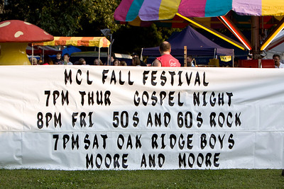 Fall Festival 2009
