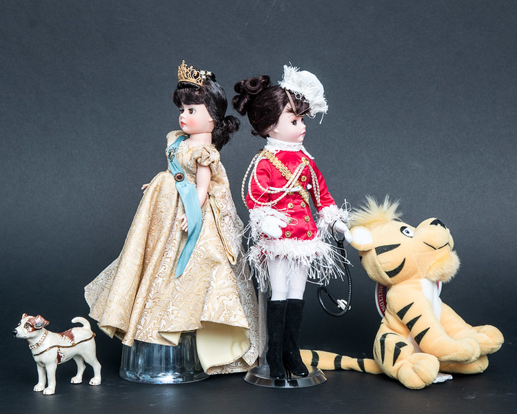 Dolls with pets