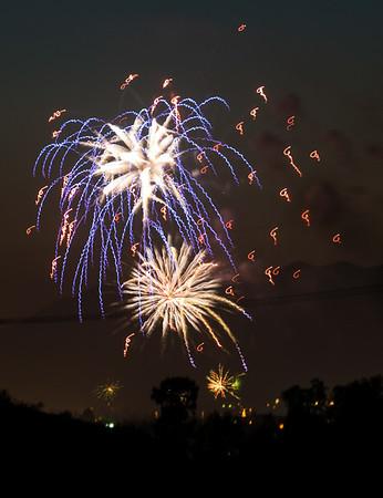 Fireworks - LA - CA, July 2014