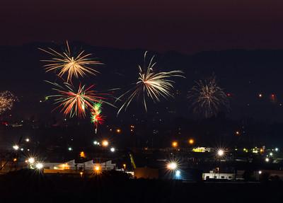 Fireworks - LA - CA, July 2015