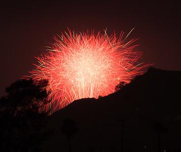 Fireworks - LA - CA, July 2016