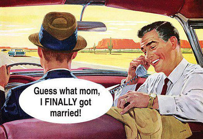 "I SOOOOO Couldn't resist!!!  My mom used to ream me for AGES to give her grandchildren & she finally shut up when I said - ""I'll have a child with 2 gay guys & that way my child gets that much more LOVE - & I still have MY FREEDOM!!!"" (since most of my time I've tended NOT to be the most monogamous  person around!!)."