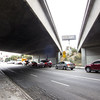 "<span id=""title"">Freeway Overpass #3</span> Again, passing under the 101 freeway along Melrose."