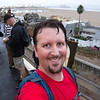 "<span id=""title"">Made It!</span> Here's me at the ocean! I didn't have any photos for the last 4 miles, mostly because I ended up chatting with other walkers for the last stretch. It was funny that I got separated for at least half the walk, but then we all kind of came back together towards the end."