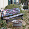 "<span id=""title"">Colorful Bench</span> A bench outside the <a href=""http://www.shakespearecenter.org/"">Shakespeare Center of Los Angeles</a>"