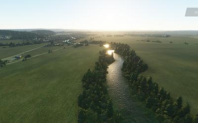 Prostějovská Hloučela se změnila v trochu masivnější vodní tok :D