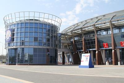 На чемпионате мира по хоккею в Минске накануне состоялись шесть матчей.