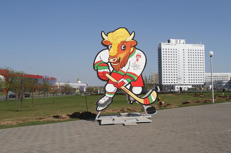 На чемпионате мира по хоккею в Минске 10-го мая состоялись шесть матчей.