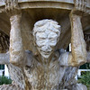 "<span id=""title"">Satyr Fountain</span> <em>Santa Monica / Alpine</em> This 4-satyr fountain was in front of the 2nd pergola we passed in Beverly Gardens Park."