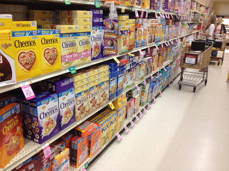 """<span id=""""title"""">Cereal Aisle</span>"""