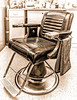 Mike Packman<br /> Old Fashion Barber Chair