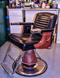 Mike Packman Classic Barber Chair