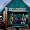 Create a Little Free Library in front of your house.
