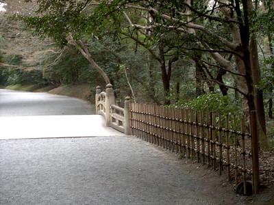 foot bridge at Meiji Jingu