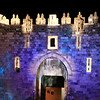 Shkhem (Nablus) Gate<br /> Jerusalem Light Festival