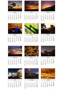 Kalendář Světlo 2015 / Light 2015 Calendar