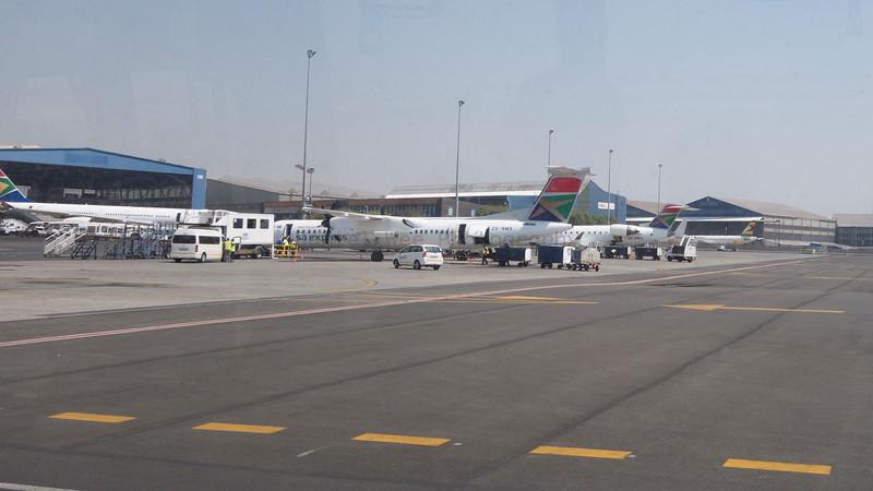 Leaving Johannesburg