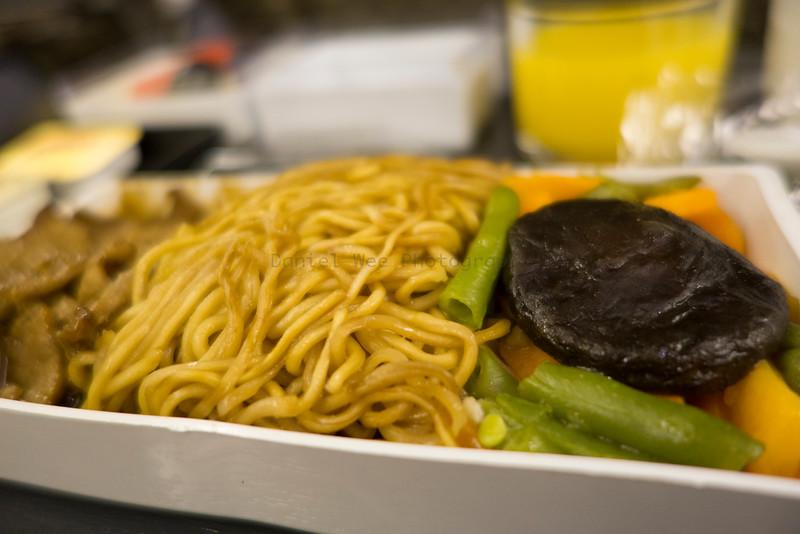 On flight Food...