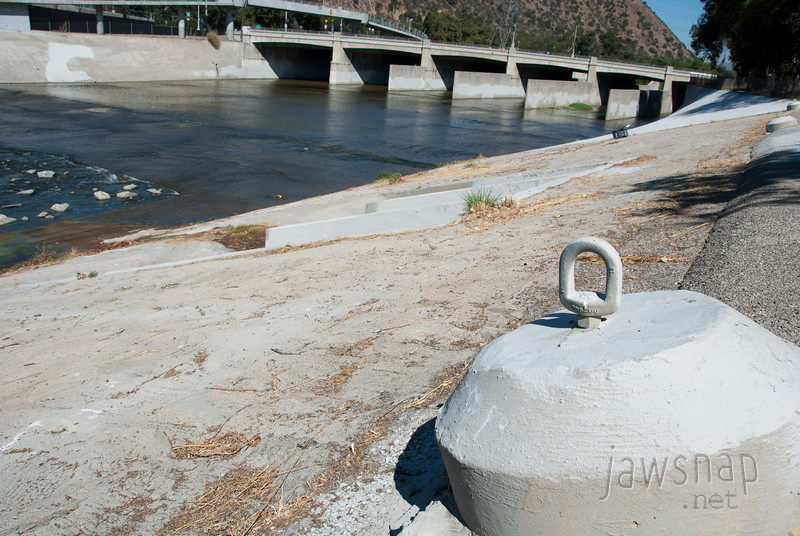 """<span id=""""title"""">Anchor Point</span> Stop 2: Glendale Narrows For swift-water rescue. Keep in mind that during a storm the water can get up to this point."""