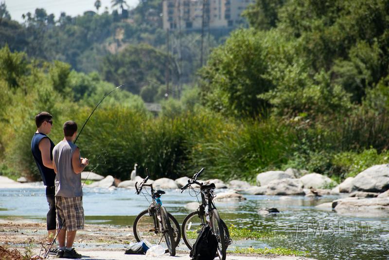 "<span id=""title"">Fishing</span> Stop 2: Glendale Narrows"