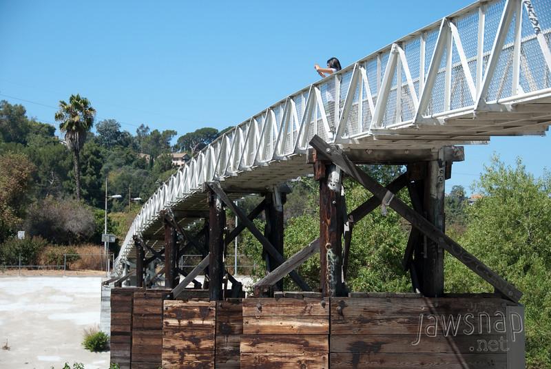 """<span id=""""title"""">Footbridge</span> Stop 2: Glendale Narrows"""