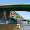 "<span id=""title"">Big Bridge</span> Stop 3: Arroyo Seco Confluence I included a wife for scale."