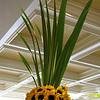 flowers in hotel lobby