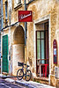 Avignon Bycycle-20 x 30 stretched canvass - Pete Stein