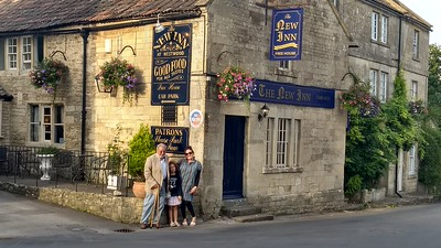 First family dinner at a nice pub near Bradford-on-Avon