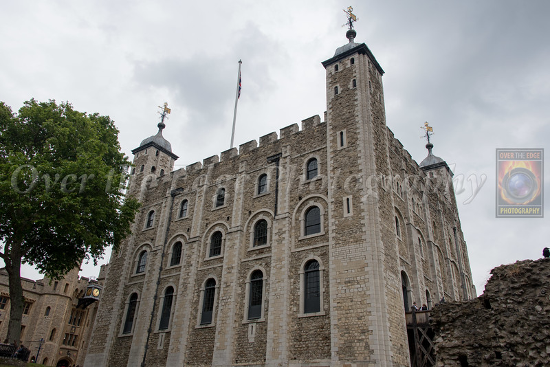 White Tower in the Tower of London