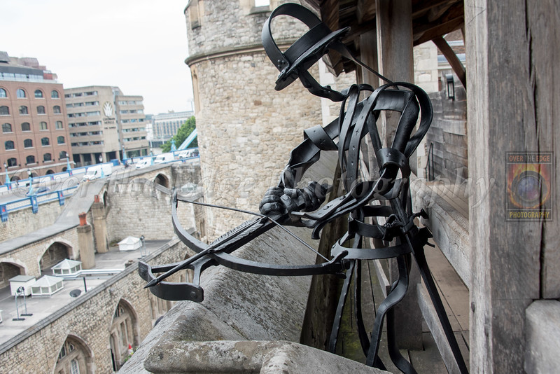 Archer Statue at Tower of London