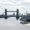 Tower Bridge & The HMS Belfast (from London Bridge)