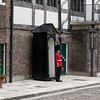 Grenadier Guard on guard at Tower Green in the Tower of London