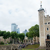 London Skyline with White Tower from Tower of London