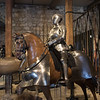 Soldier & Cavalry armor inside the Royal Armouries of the White Tower in the Tower of London