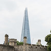 The Shard over the Tower of London