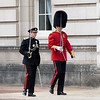 Changing of the Guard at Buckingham Palace - Gurkha Guards and Grenadier Guards