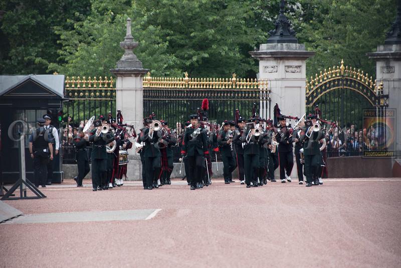 Changing of the Guard at Buckingham Palace - Gurkha Guards