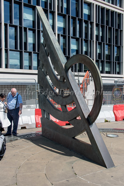 The Sundial at the Tower Hill Underground Station